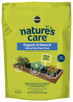 Nature's Care® Organic & Natural Raised Bed Plant Food