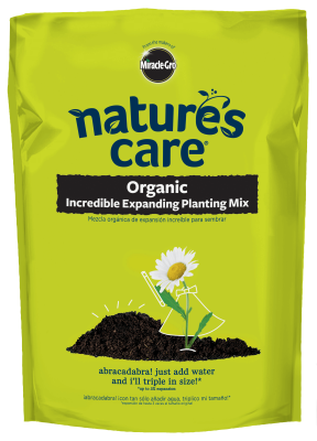 Nature's Care® Organic Incredible Expanding Planting Mix