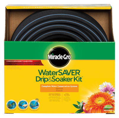 Miracle-Gro® Water Saver Drip & Soaker™ Kit
