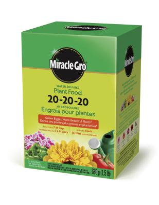 Miracle-Gro® Water Soluble Plant Food 20-20-20
