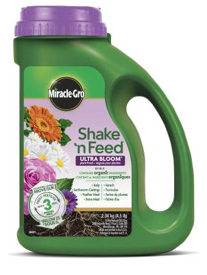 Engrais pour plantes Miracle-Gro® Shake 'N Feed® Ultra Bloom® 10-18-9