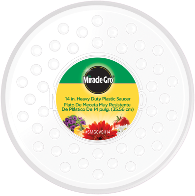 Miracle-Gro® Heavy Duty Plastic Saucer