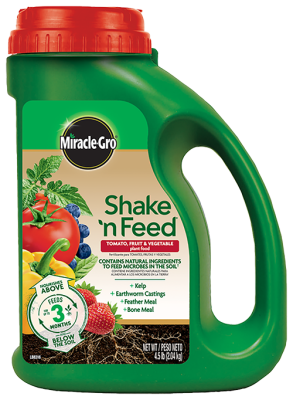 Miracle-Gro® Shake 'n Feed® Tomato, Fruit & Vegetable Plant Food