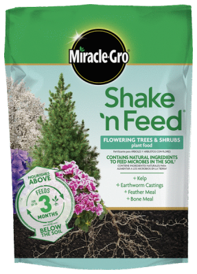 Miracle-Gro® Shake 'n Feed® Flowering Trees & Shrubs Plant Food