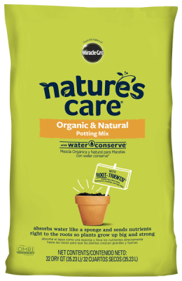 Nature's Care® Organic & Natural Potting Mix with Water Conserve®