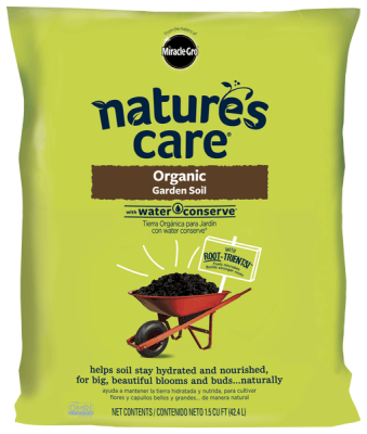Nature's Care® Organic Garden Soil with Water Conserve®