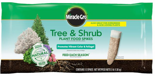Miracle-Gro® Tree & Shrub Plant Food Spikes