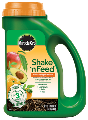 Miracle-Gro® Shake 'n Feed® Citrus, Avocado, Mango Plant Food