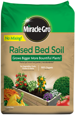 Miracle-Gro® Raised Bed Soil