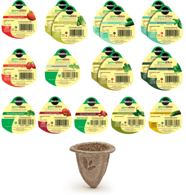 Miracle-Gro® Gro-ables® 18CT Salad and Herb Seed Pod® Kit