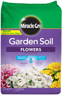 Miracle-Gro® Garden Soil for Flowers