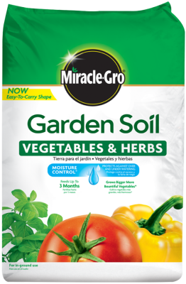 Miracle-Gro® Garden Soil for Vegetables and Herbs