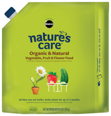 Nature's Care® Organic & Natural Vegetable, Fruit & Flower Food