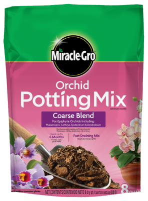 Miracle-Gro® Orchid Potting Mix Coarse Blend
