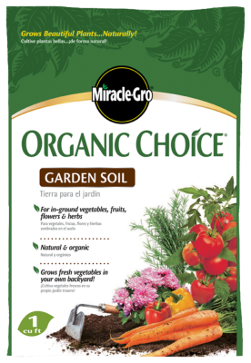 Miracle-Gro® Organic Choice® Garden Soil