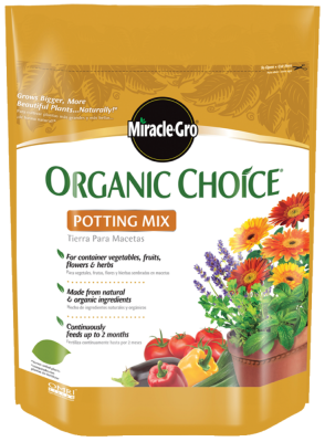 Miracle-Gro® Organic Choice® Potting Mix