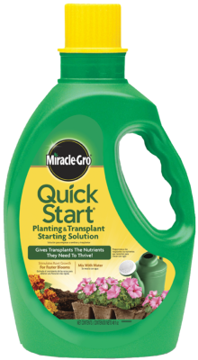Miracle-Gro® Quick Start® Planting & Transplant Starting Solution