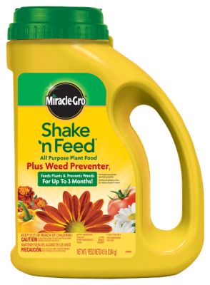 Miracle-Gro® Shake 'N Feed® All Purpose Plant Food Plus Weed Preventer₁