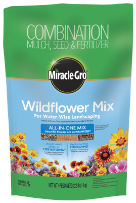 Miracle-Gro® Wildflower Mix for Water-Wise Landscaping