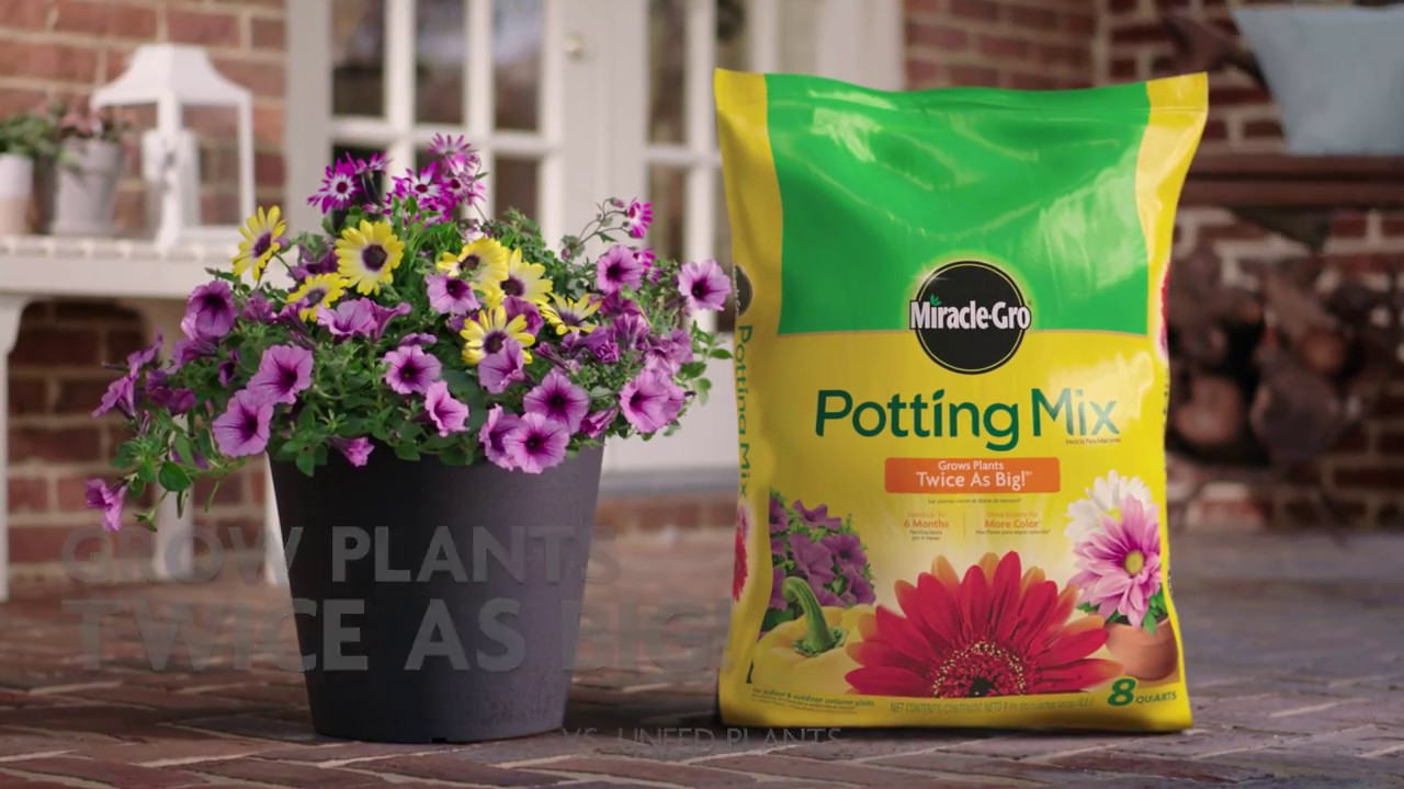 Potting Mix - Miracle-Gro Canada